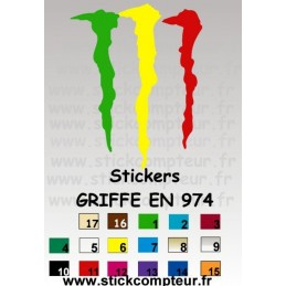 Stickers GRIFFE EN 974