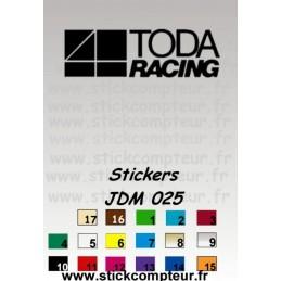 Stickers JDM 025 - StickCompteur création stickers personnalisés
