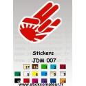 Stickers JDM 007