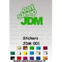 Stickers JDM 001