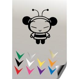 Autocollant PUCCA 1 - StickCompteur création stickers personnalisés
