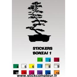 Stickers BONZAI 1