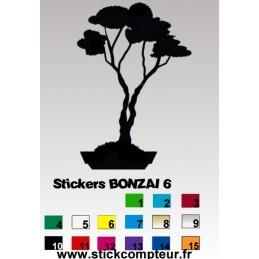 Stickers BONZAI 6