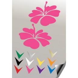 Autocollant FLEUR 1 - StickCompteur création stickers personnalisés