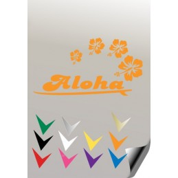 Autocollant ALOHA 1