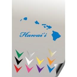 Autocollant HAWAII 1 - 1