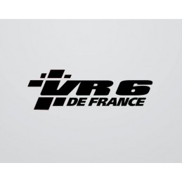 Stickers VR6 DE FRANCE UNIE nouvelle version 2016