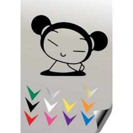 Autocollant PUCCA 13 - StickCompteur création stickers personnalisés