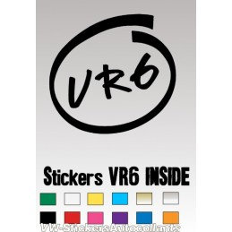 Stickers VR6 INSIDE