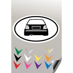 Autocollant EMBLEME 2 GOLF 3 VW