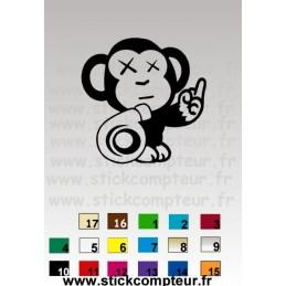 SINGE TURBONO17 - StickCompteur création stickers personnalisés