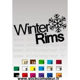 WINTER RIMSNO17 - StickCompteur création stickers personnalisés