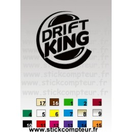 DRIFT KINGMA18 - StickCompteur création stickers personnalisés