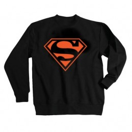 SWEAT-SHIRT sans capuche col rond SUPERMAN ROUGE