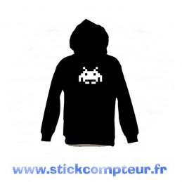 SWEAT-SHIRT capuche SPACE INVES