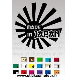 STICKERS MADE IN JAPAN DRAP - StickCompteur création stickers personnalisés