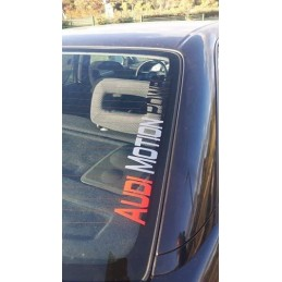 STICKERS AUDI MOTION POWER 3 couleurs
