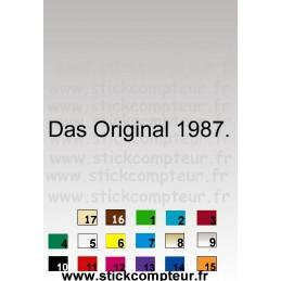 DAS ORIGINAL 1* - StickCompteur création stickers personnalisés