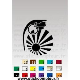 STICKERS JDM BOM DRAP - StickCompteur création stickers personnalisés