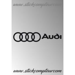 AUDI 006 Stickers