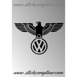 1 stickers AIGLE VW 1