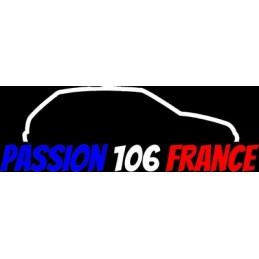 PASSION 106 FRANCE DROITE 3 COULEURS STICKERS