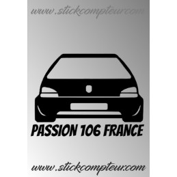 PASSION 106 FRANCE UNIE  STICKERS