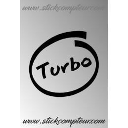 TURBO INSIDE Stickers