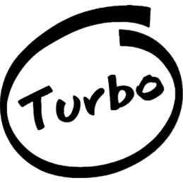 TURBO INSIDE Stickers* - 2