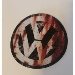 VW ROUILLE LOGO Stickers