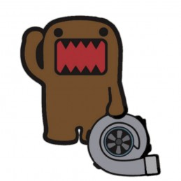TURBO JDM DOMO Stickers