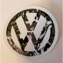 LOGO VW NOIR ET BLANC Stickers