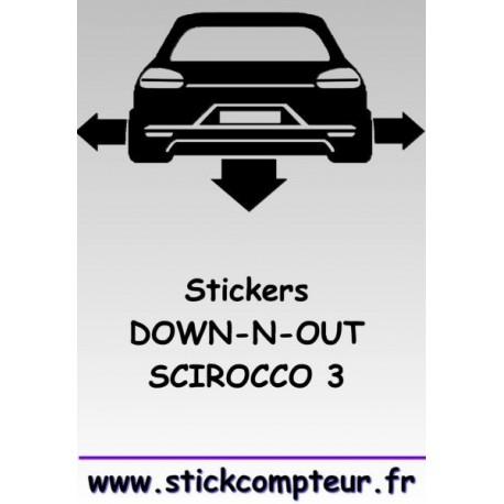 1 stickers Down-n-out SCIROCCO 3 - StickCompteur création stickers personnalisés