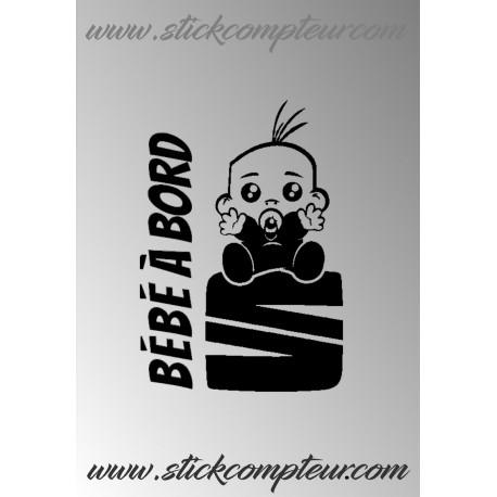 BEBE A BORD SEAT STICKERS - 1