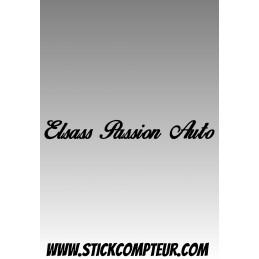 Elsass Passion Auto Stickers - StickCompteur création stickers personnalisés