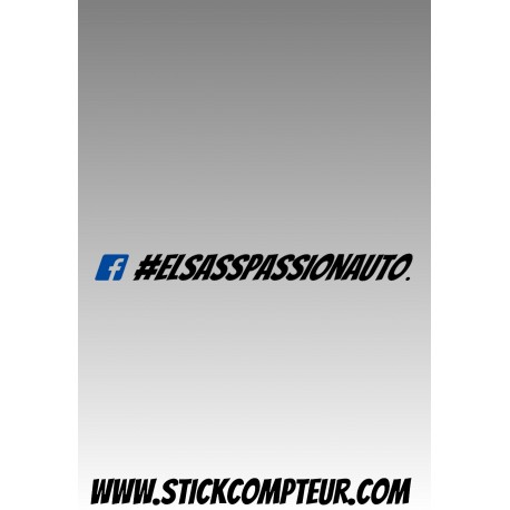 Elsass Passion Auto FACEBOOK Stickers