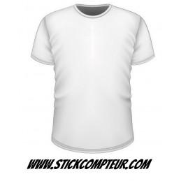 T-shirt à personnaliser - StickCompteur création stickers personnalisés