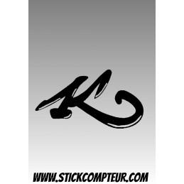 MEGUIARS LETTRE Stickers - 1