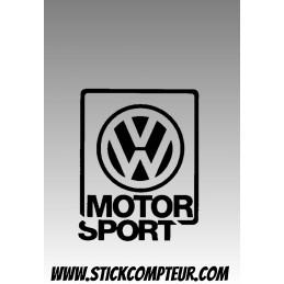 MOTOR SPORT VW VOLKSWAGEN STICKERS