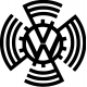 VOLKSWAGEN LOGO 1937 ANCIEN STICKERS* - StickCompteur création stickers personnalisés