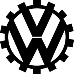 VOLKSWAGEN LOGO 1939-1945 STICKERS