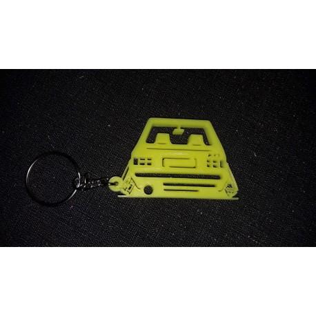 Porte clés GOLF 1 Volkswagen DOWN AND OUT * - StickCompteur création stickers personnalisés