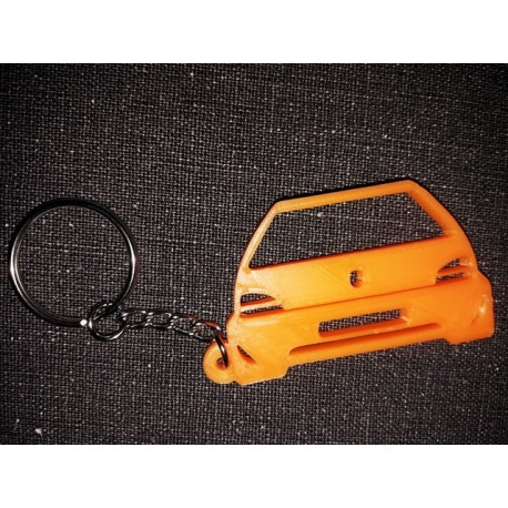 Porte clés 106 PEUGEOT DOWN AND OUT  *