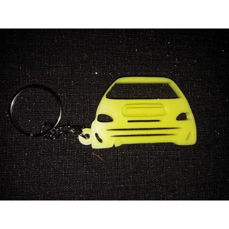 Porte clés SAXO CITROEN DOWN AND OUT  *