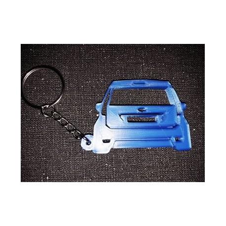 Porte clés FORD FIESTA MK6  DOWN AND OUT * - StickCompteur création stickers personnalisés