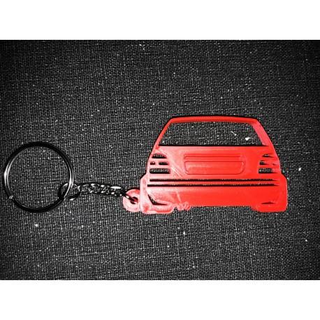 Porte clés golf 3 arrière Volkswagen DOWN AND OUT * - StickCompteur création stickers personnalisés