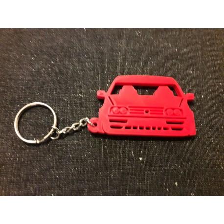Porte clés FACE AVANT golf 3 Volkswagen DOWN AND OUT * - StickCompteur création stickers personnalisés