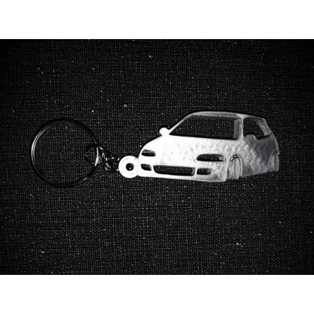 Porte clés COTE HONDA CIVIC EG DOWN AND OUT * - StickCompteur création stickers personnalisés