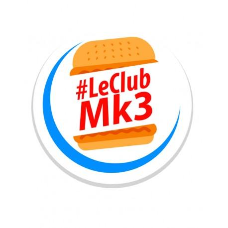 le club MK3 sandwich Stickers - StickCompteur création stickers personnalisés