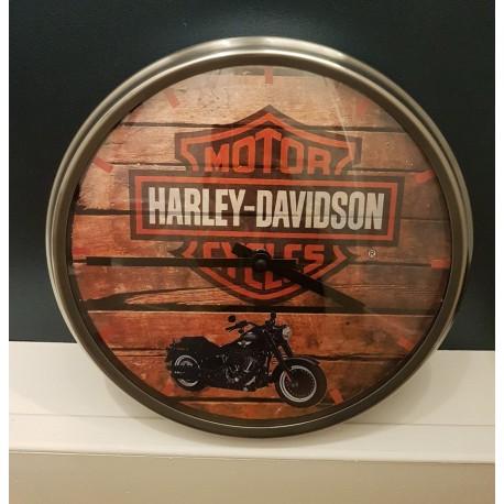 HARLEY DAVIDSON 1 Horloge murale Diametre 32 cm - StickCompteur création stickers personnalisés